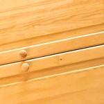 Szafa sosnowa, zbudowana na wymiar