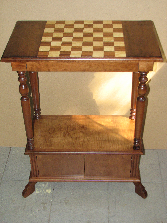 stolik konsola z szachownica stolik na zamowienie